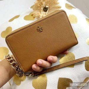 💖OFFERS??💖•Tory Burch• Brown Wallet